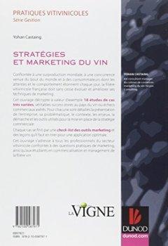 Livres Couvertures de Stratégies et marketing du vin