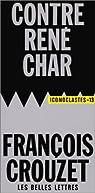 Contre René Char