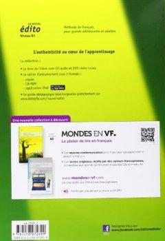 Livres Couvertures de Le nouvel Edito B1 - Livre + CD + DVD [DVD format: PAL]