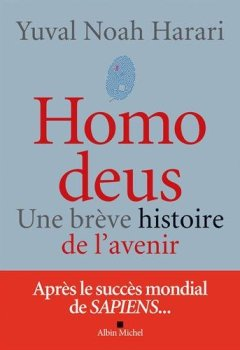 Livres Couvertures de Homo deus : Une brève histoire de l'avenir
