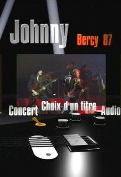 Livres Couvertures de Johnny Hallyday : Johnny à Bercy (1987)