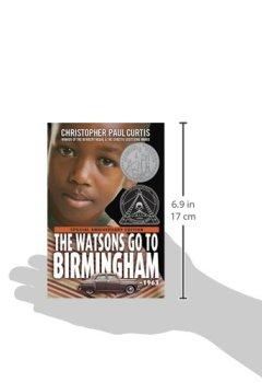 Livres Couvertures de The Watsons Go to Birmingham--1963
