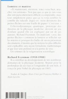 Livres Couvertures de Lumière et matière - Une étrange histoire