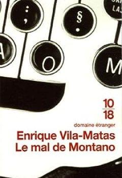 Livres Couvertures de Le mal de Montano