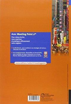 Livres Couvertures de Meeting Point Anglais 2de éd. 2010 - Manuel de l'élève