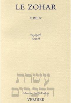 Livres Couvertures de Le Zohar, tome 4