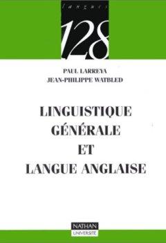 Livres Couvertures de Linguistique générale et langue anglaise
