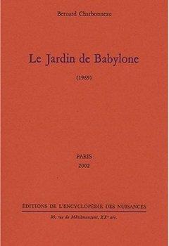 Livres Couvertures de Le jardin de Babylone (1969)