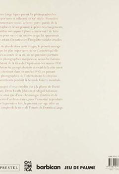 Livres Couvertures de Dorothea Lange : Politiques du visible