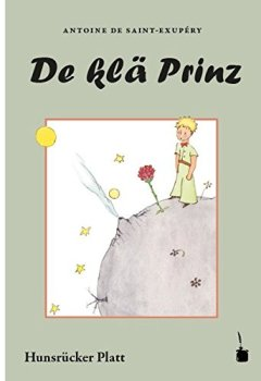 Portada del libro deDe klä Prinz: In en Hunsrücker Platt (vun mitte drin) umgeschrieb