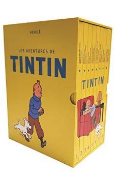 Livres Couvertures de Les Aventures de Tintin : Coffret intégral Tintin