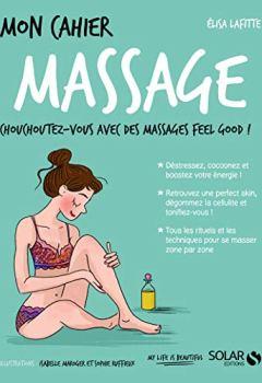 Livres Couvertures de Mon cahier Massage