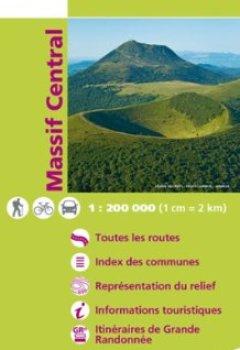 Livres Couvertures de TOP200204 MASSIF CENTRAL  1/200.000
