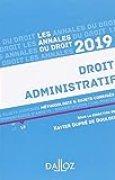 Droit administratif 2019. Méthodologie & sujets corrigés