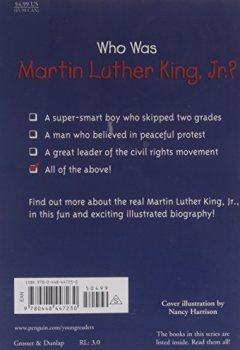 Livres Couvertures de Who Was Martin Luther King, Jr.?
