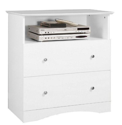 Image of Walker Edison AWECWH Entertainment Center TV Stand (AWECWH)