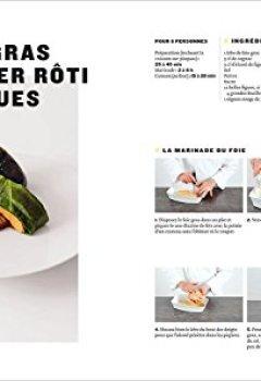 Livres Couvertures de Cuisine, leçons en pas à pas