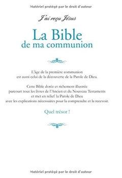 Livres Couvertures de La Bible de ma communion