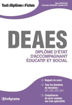 Livres Couvertures de Diplôme d'état d'accompagnant éducatif et social (DEAES)