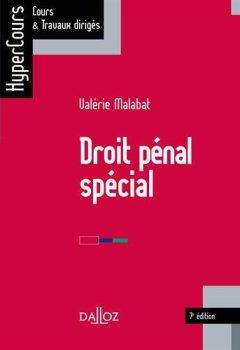 Livres Couvertures de Droit pénal spécial - 7e éd.