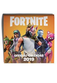 Livres Couvertures de FORTNITE (OFFICIAL): 2019 Calendar