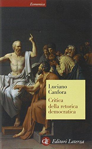 Critica della retorica democratica
