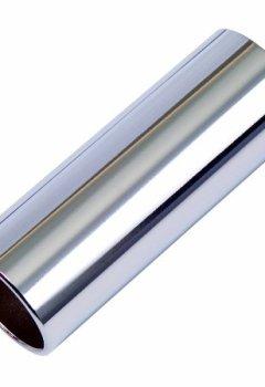 Livres Couvertures de Kinsman KAC502 Slide pour guitare Taille moyenne Chrome