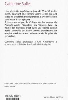 Livres Couvertures de La Rome des Flaviens