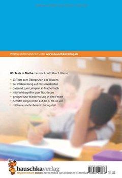 Buchdeckel von Tests in Mathe - Lernzielkontrollen 3. Klasse (Lernzielkontrollen, Klassenarbeiten und Proben, Band 83)