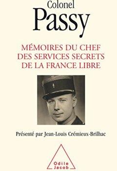 Livres Couvertures de Mémoires du chef des services secrets de la France libre