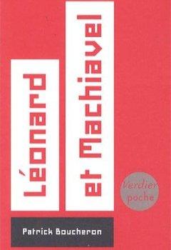 Livres Couvertures de Léonard et Machiavel
