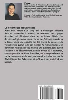 Livres Couvertures de La Bibliothèque des Existences