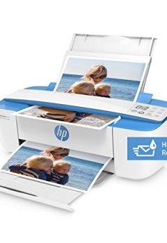 Livres Couvertures de HP Deskjet Imprimante multifonction (Imprimante, scanner, photocopieur, WLAN, AirPrint, Ink instantanée Ready) sans cartouches supplémentaires bleu