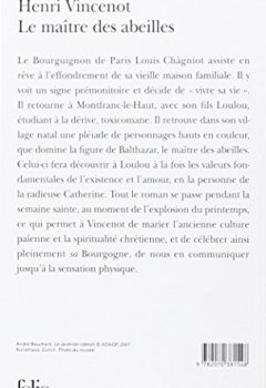 Livres Couvertures de Le Maître des abeilles: Chronique de Montfranc-le-Haut