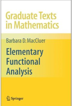 Livres Couvertures de Elementary Functional Analysis