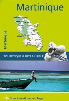 Livres Couvertures de Carte Martinique Michelin