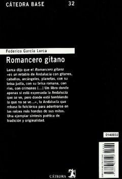 Livres Couvertures de Romancero gitano
