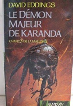 Livres Couvertures de Le démon majeur de Karanda (La Mallorée)