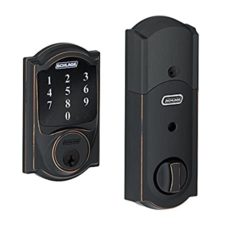 Schlage BE468 Touchscreen Deadbolt At Schlage, we know security. After all, we've been innovating locks for more than 90 years. Now, with the Touchscreen Deadbolt, we've created a door lock that combines all of our best security features into one loc...