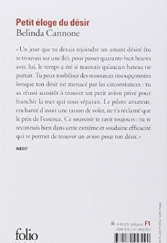 Livres Couvertures de Petit éloge du désir