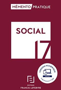 Livres Couvertures de MEMENTO SOCIAL 2017