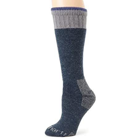 This boot sock keeps you warm, dry and protected in all environments, even extreme cold, acrylic/merino wool blend regulates temperatures so you are completely comfortable no matter where you are, fully cushioned in the foot and lower leg for maximum...