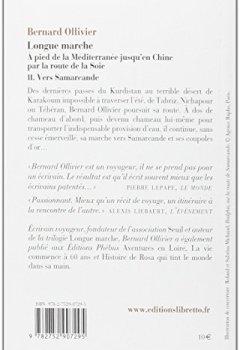 Livres Couvertures de Longue marche, Tome 2 : Vers Samarcande : A pied de la Méditerranée jusqu'en Chine par la route de la soie