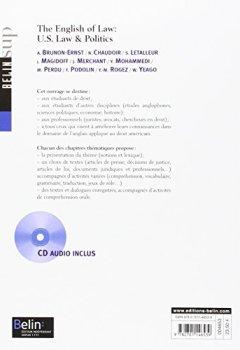 Livres Couvertures de The English of Law: US Law & Politics (1CD audio)