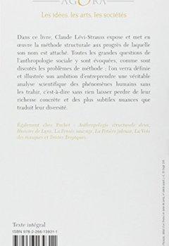 Livres Couvertures de Anthropologie structurale
