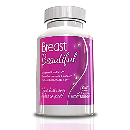 Bikini Season Is Here! Use Breast Beautiful To Get Bikini Body Ready For Summer 2015 Breast Beautiful-Breast Enlargement Pills, 60 Capsules, Full 30 Day Supply,Helps Increase Your Cup Size, Fenugreek Breast Enhancement,Get Bikini Body Ready, Look Ama...