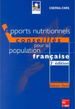 Livres Couvertures de Apports nutritionnels conseillés pour la population française. 3ème édition