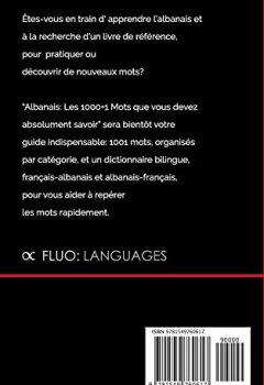 Livres Couvertures de Albanais: Les 1000+1 Mots que vous devez absolument savoir