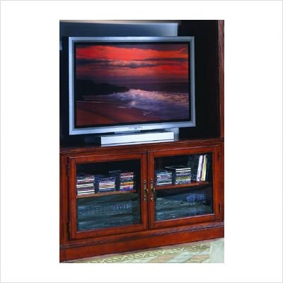 Image of 8043 Series TV Stand in Warm Cherry (8043C-T)