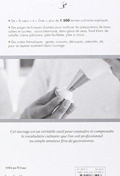 Livres Couvertures de Le lexique culinaire de Ferrandi: Tout le vocabulaire de la cuisine et de la pâtisserie en 1500 définitions et 200 photographies